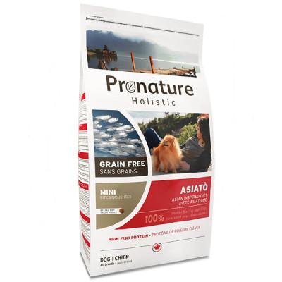 купити Pronature Holistic (Пронатюр Холістік) Asiato Small Bites риба сиг з папайей корм для собак міні і малих порід в Одеси