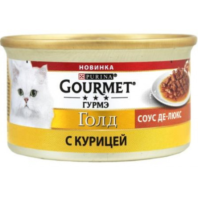 Gourmet Gold (Гурмет Голд) соус Де-люкс с курицей, 85г