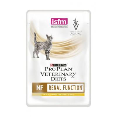 купити Purina Veterinary Diets NF Renal Function Feline Шматочки в підливі з куркою для кішок при патології нирок в Одеси