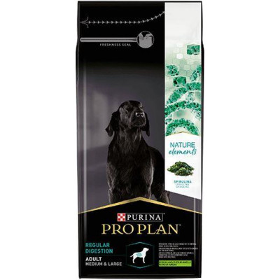 купити Pro Plan Nature Elements для собак середніх і великих порід з чутливим травленням, ягня/спіруліна в Одеси