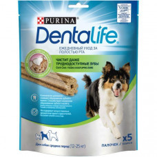 Purina DentaLife Medium Ласощі для собак 6х115
