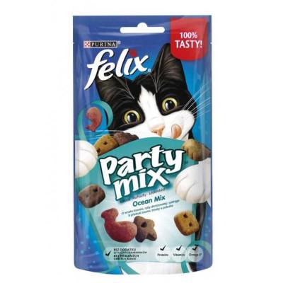 купити Felix (Фелікс) Party Mix Ocean Mix ласощі Океанічний Мікс для кішок, 60 г в Одеси