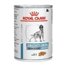 Royal Canin DOG Sensitivity Control Chicken лікувальна консерва з куркою та рисом при харчовій алегрії та непеносимості