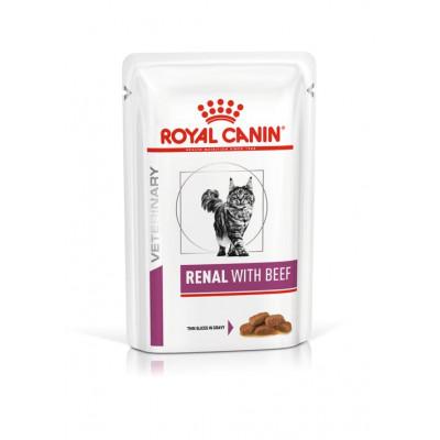 купити Royal Canin RENAL With Beef консерви для котів при хронічній нирковій недостатності (яловичина) в Одеси