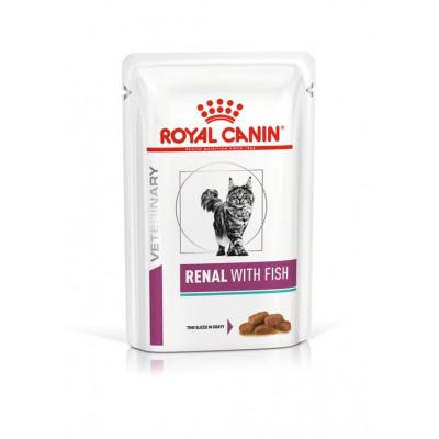 купити Royal Canin RENAL With FISH консерви для котів при хронічній нирковій недостатності (риба) в Одеси