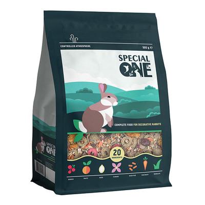 купити SPECIAL ONE Корм для декоративних кроликів 500г в Одеси