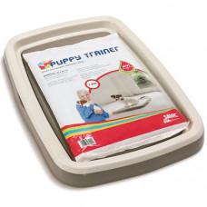 Savic ПАППИ ТРЭЙНЕР (Puppy Trainer) туалет для собак, пластик , 48Х35Х4 см