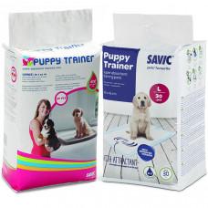 Savic ПАППИ ТРЭЙНЕР (Puppy Trainer) пелюшки для собак , 30 шт