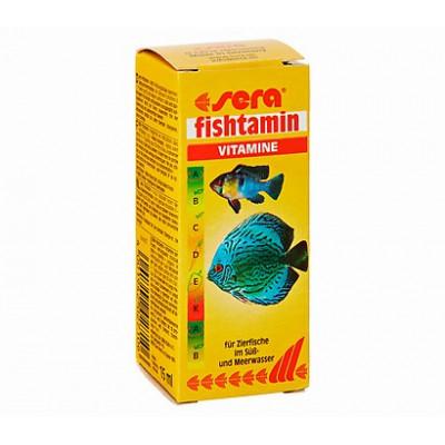 купити Sera Fishtamin (Сера Фіштамін) Мультивітамінний комплекс для риб в Одеси
