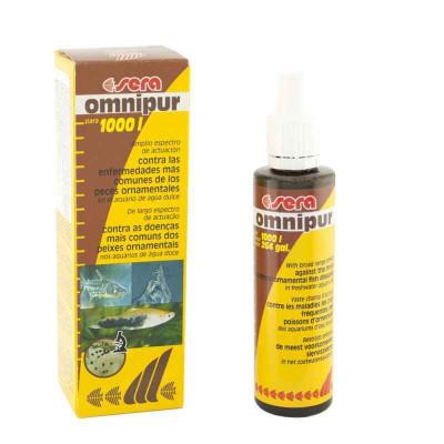 купити Sera Omnipur (Сера Омнипур) Лікарський засіб для риб від грибків і бактерій в Одеси