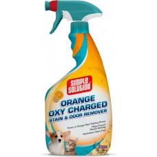 Simple Solution (Симпл Солюшн) ORANGE OXY CHARGED універсальний засіб для видалення запахів і плям тварин 945 мл