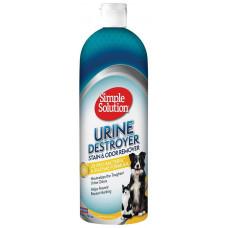 Simple Solution для видалення стійких плям і нейтралізації запаху сечі собак, 945мл