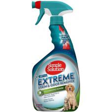 Simple Solution (Симпл Солюшн) універсальний засіб для видалення запахів і плям, аромат весняний бриз, Extreme Stain & Odor Remover Spring Breeze Scent
