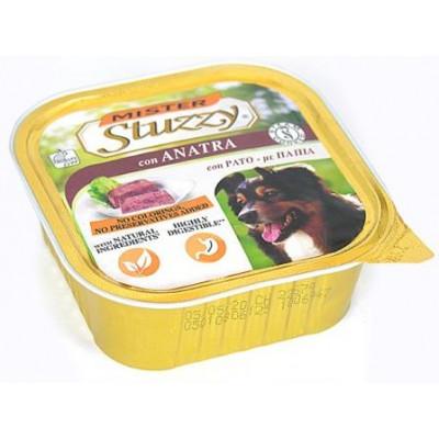 купити MISTER STUZZY Dog Duck (Anatra) МИСТЕР ШТУЗИ УТКА корм для собак, паштет, 300г в Одеси