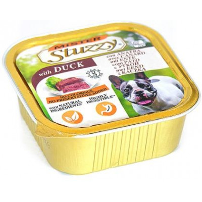 купити MISTER STUZZY Dog Duck МИСТЕР ШТУЗИ УТКА корм для собак, паштет, 150г , 0.15 кг. в Одеси
