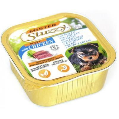 купити MISTER STUZZY Dog Puppy МИСТЕР ШТУЗИ ДЛЯ ЩЕНКОВ корм для щенков, паштет, 150г в Одеси