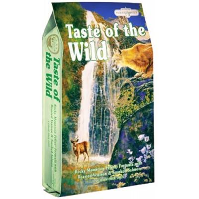 купити Taste of the Wild Rocky Mountain Feline корм для кішок і кошенят з м'ясом смаженої оленини і копченим лососем в Одеси
