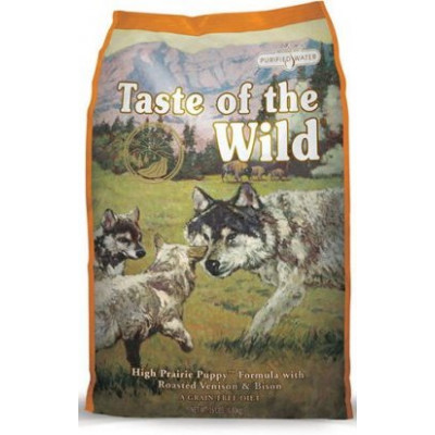 купити Taste of the Wild High Prairie Puppy для цуценят всіх порід з запеченим м'ясом бізона в Одеси