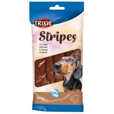 купити Trixie (Трикси) Stripes Пластинки для собак с мясом ягненка 10 шт 100 г в Одеси