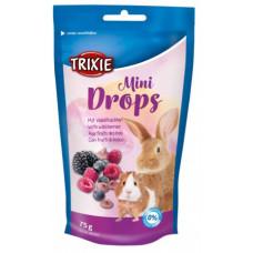 Trixie Mini Drops лакомства для грызунов с фруктами и лесными ягодами