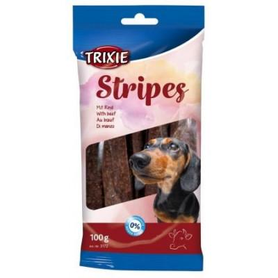 купити Trixie (Трикси) Stripes Пластинки для собак с мясом говядины 10 шт 100 гр в Одеси