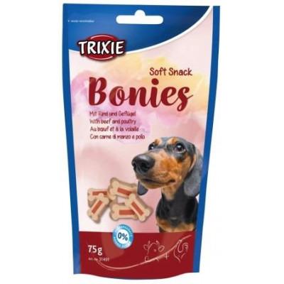 купити Trixie (Тріксі) Soft Snack Bonies Ласощі для собак зі смаком яловичини та птиці 75 гр в Одеси