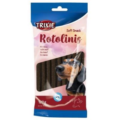 купити TRIXIE (Трикси) Rotolinis Крученые палочки для собак с говядиной, 12 шт, 120 г в Одеси