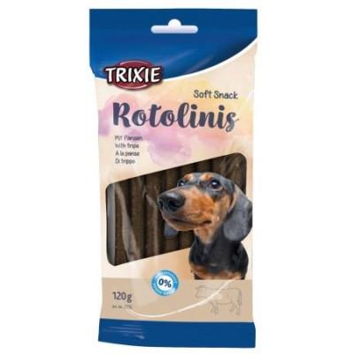 купити TRIXIE (Трикси) Rotolinis Крученые палочки для собак с говяжим рубцом, 12 шт, 120 г в Одеси