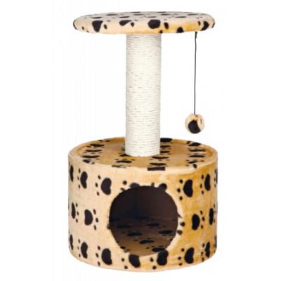 """купити Trixie (Тріксі) Будинок для кішки Toledo з малюнком """"Котячі лапки"""", 61 см в Одеси"""