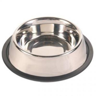 купити Trixie (Тріксі) Миска металева на гумі для собак 0.9 л, ø 17 см в Одеси