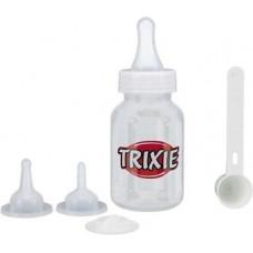 Trixie (Тріксі) Набір для годування з ложкою, 120ml, прозорий / білий
