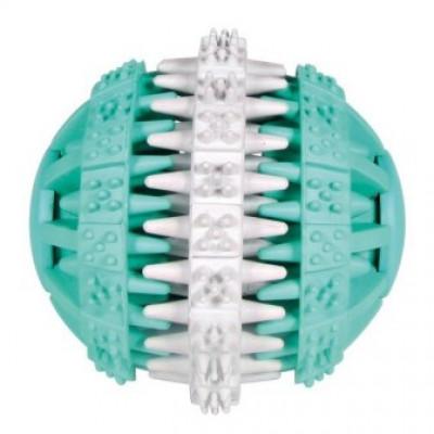 купити Trixie (Тріксі) М'яч Denta Fun, гума, білий / зелений в Одеси