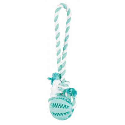 Trixie (Тріксі) М'яч на мотузці Denta Fun, 7 см / 24 см