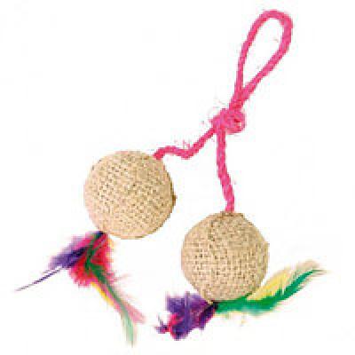 купити Trixie (Тріксі) М'ячики джутові з м'ятою 4,5 см (2шт) в Одеси