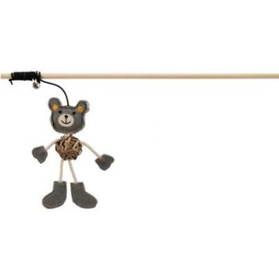 Trixie (Тріксі) Вудка з ведмедиком 40 см іграшки для котів