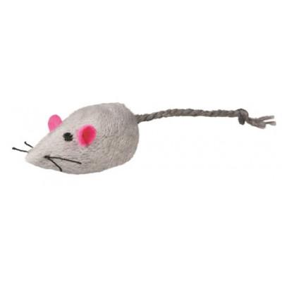 купити Trixie (Тріксі) Набір з 2 мишей, сірий / білий, 5 см в Одеси