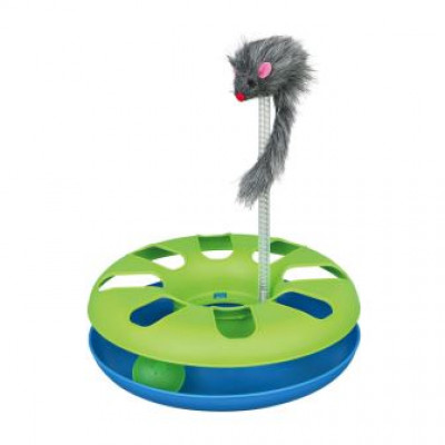 Trixie (Тріксі) Трек ігровий з мишкою «Crazy Circle» d = 24 см, h = 29 см іграшка для котів
