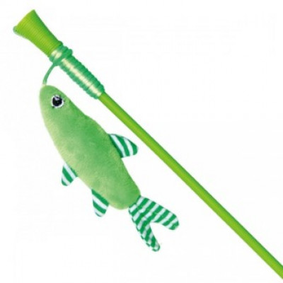 Trixie (Тріксі) Вудка з рибкою і пером 42 см іграшки для котів