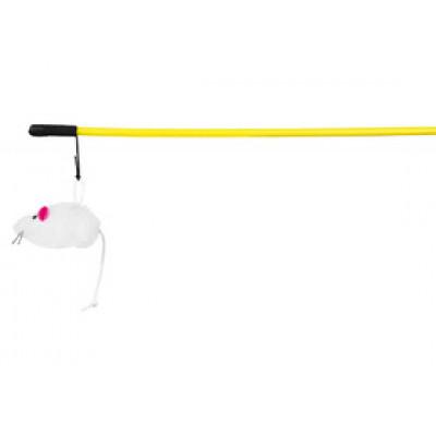 Trixie (Тріксі) Вудка миша плюш 50 см іграшки для котів
