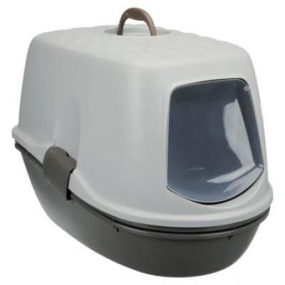 """Trixie (Тріксі) Туалет """"Berto"""" (рама + сітка) 39x42x59, темно-сірий"""