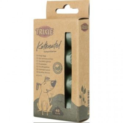 купити Trixie (Тріксі) Змінні біорозкладні пакети для фекалій, 4 шт в Одеси