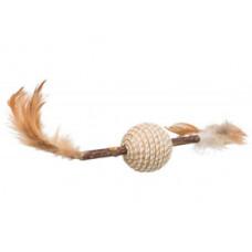 """Trixie (Тріксі) Іграшка """"Мататабі"""" з пір'ям, 20см"""