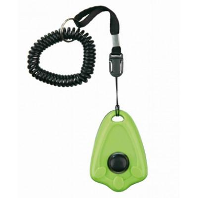 купити Trixie (Тріксі) Клікер Dog Activity Clicker з кнопкою і пружинним браслетом в Одеси