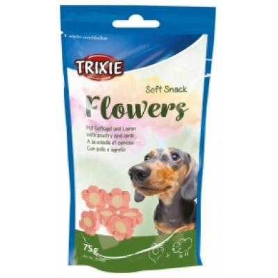 купити TRIXIE (Трикси) Soft Snack Flowers Лакомство для собак с ягненком и курицей, 75 гр в Одеси
