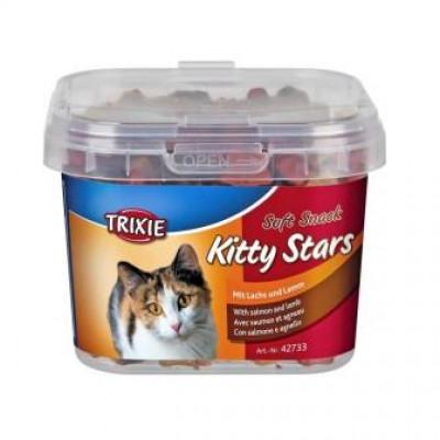 """Trixie (Тріксі) Вітаміни Відро пластикове """"Kitty Stars"""" для котів 140гр"""