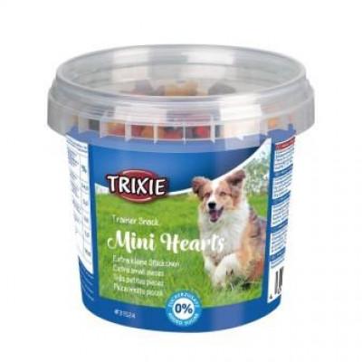 """Trixie (Тріксі) Ласощі для собак Відро пластик """"Mini Hearts"""" 200гр"""