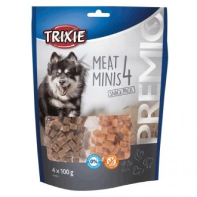 купити Trixie (Тріксі) Premio 4 Meat Minis Ласощі для собак, курка / качка / ягня / лосось, 400g в Одеси