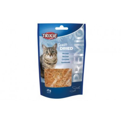 """Trixie (Тріксі) Креветки сушені """"PREMIO"""", для котів 25гр"""