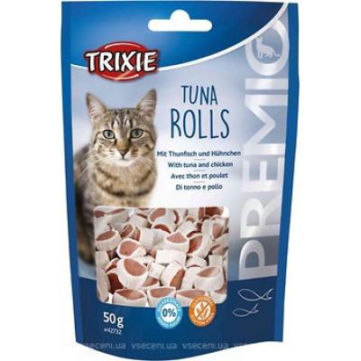 """Trixie (Тріксі) Ласощі """"PREMIO Tuna Rolls"""" тунець для котів 50гр"""