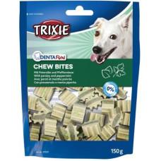 TRIXIE (Трикси) Denta Fun Chew Bites Ласощі для собак з петрушкою та м'ятою для чищення зубів 150 г